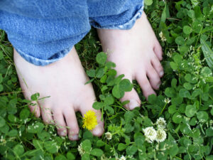 barefoot spring